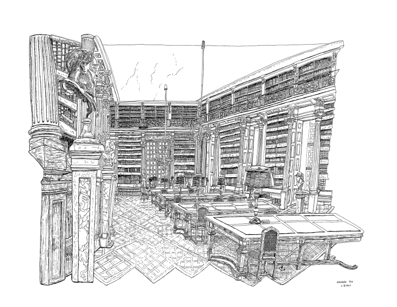 christelletea-bibliothequemazarine-2.II.2021